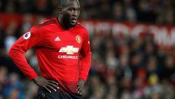 """Jose Mourinho laat spits uit vorm Romelu Lukaku in Manchester: """"Hij is geblesseerd"""""""