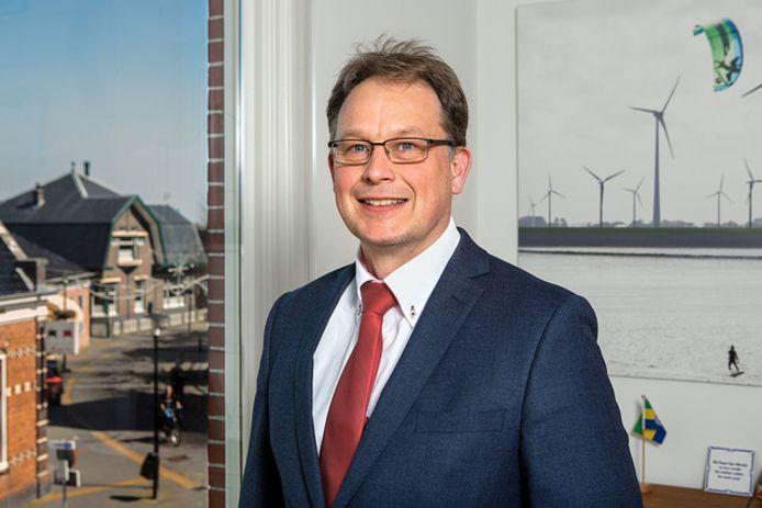 Harald Bouman stapte vorig jaar plotseling op als burgemeester van de Noordoostpolder.