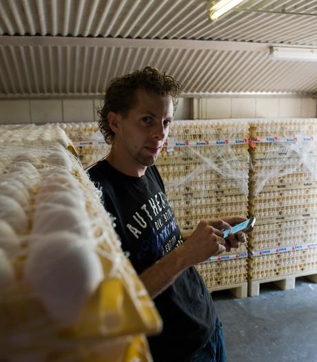 Kippenboer Jacco hangt vlag uit: 'Pluimveebedrijf bijna vrijgegeven'