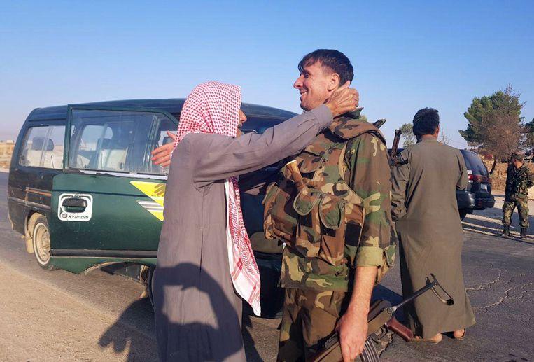 De Koerdische bevolking verwelkomt de Syrische steun tegen Turkije.
