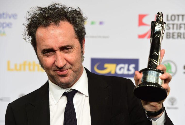 Paolo Sorrentino pakte met zijn film Youth de prijzen voor beste film en beste regie. Beeld afp