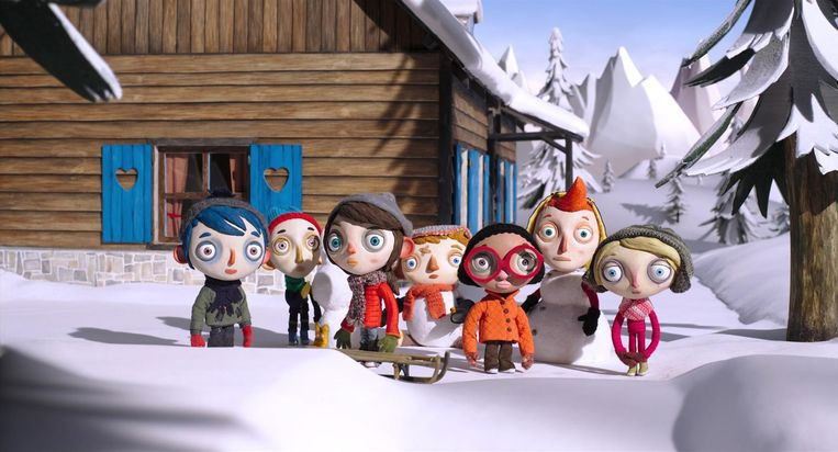 Ma vie de Courgette: Aandoenlijke stop-motion-animatiedrama. Beeld