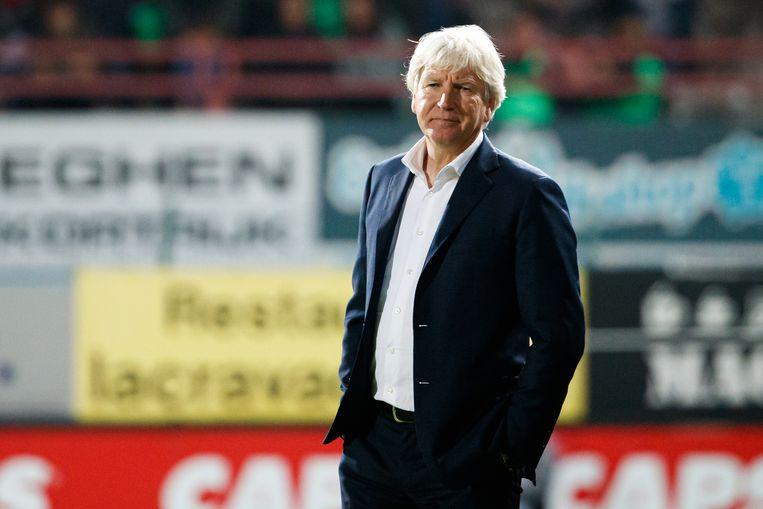 Marc Brys en STVV slikten in hun laatste competitiematch vier goals in Kortrijk.