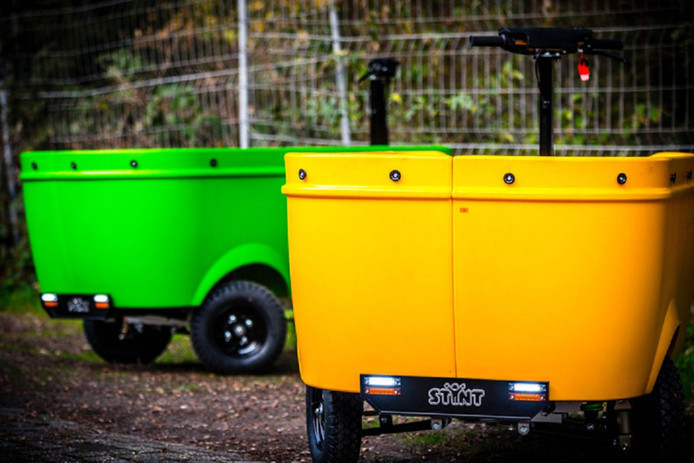 Elektrisch aangedreven voertuigen van Stint Urban Mobility.