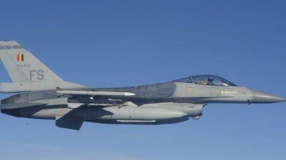 Belgische F-16's onderscheppen Russische bommenwerpers