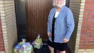 Geen verjaardagsfeestje door corona? Tekeningen en vlaggetjes sieren huis van Marie Louise Lamote