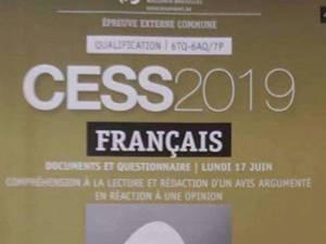 La ministre Schyns dépose plainte après une fuite de l'épreuve de français du CESS