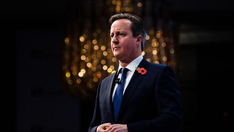 De Britse premier, David Cameron. Beeld afp