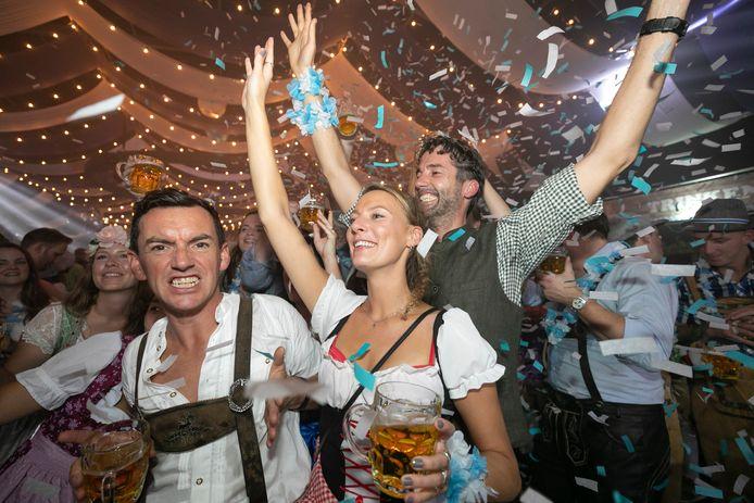 Een grootschalig Oktoberfest stond nog niet eerder op de kalender in Den Bosch. Tot dit weekend.