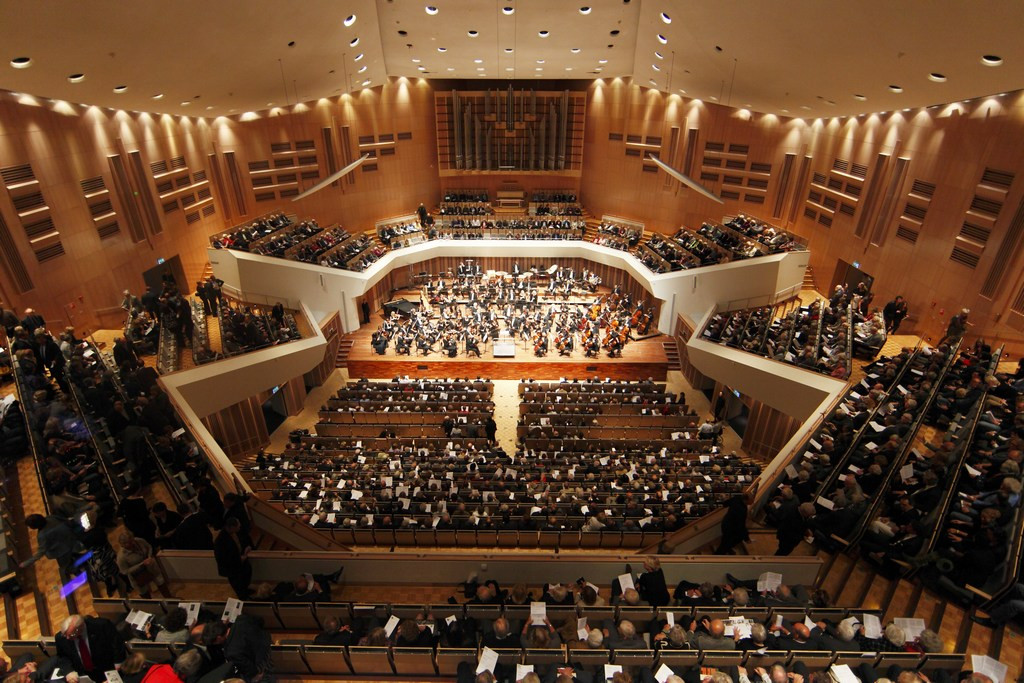 Concert in het Muziekgebouw Eindhoven