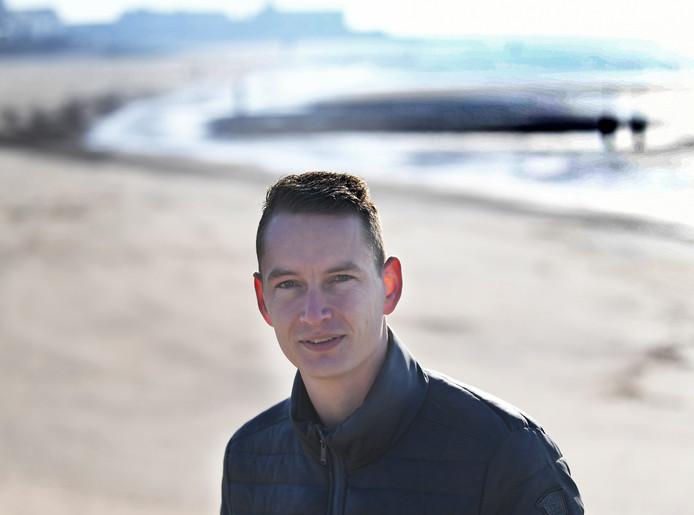 Kevin Hollander, trainer van Vlissingen.
