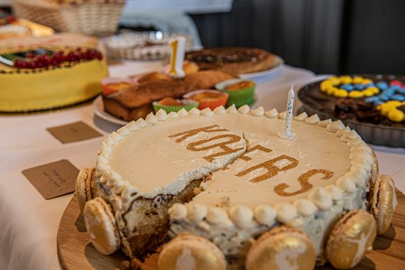 Deze taart van Nele Saint-Germain werd 2de.