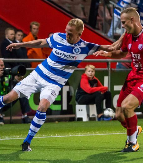 De Graafschap wint moeizaam van Jong FC Utrecht