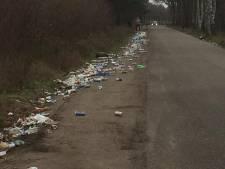 Ergernis over zwerfafval bij Kanthoeve in Bakel
