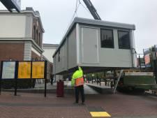 Stemlokaal geplaatst bij station Dordrecht