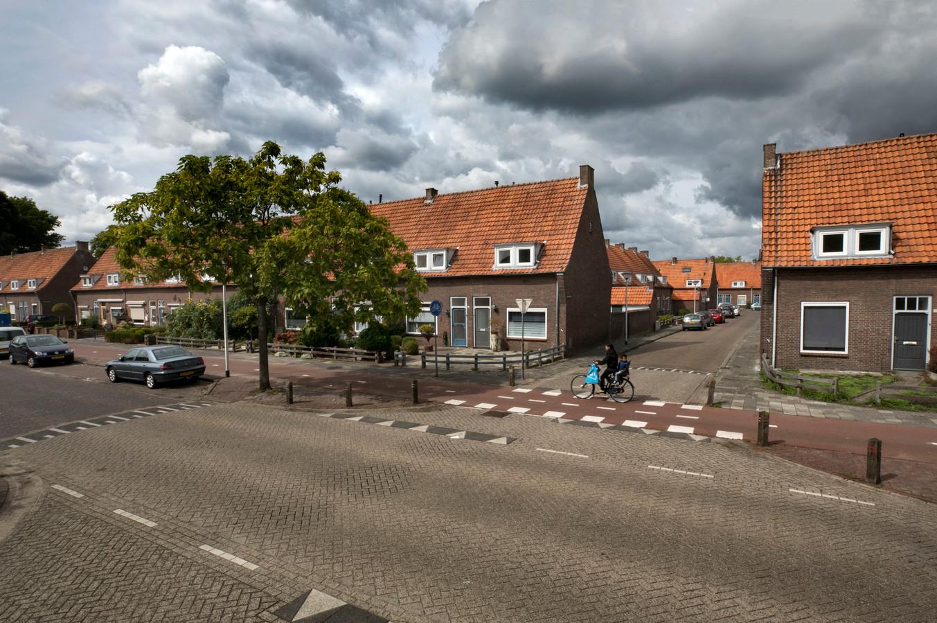 De Lucas Gasselstraat in de Leonardusbuurt