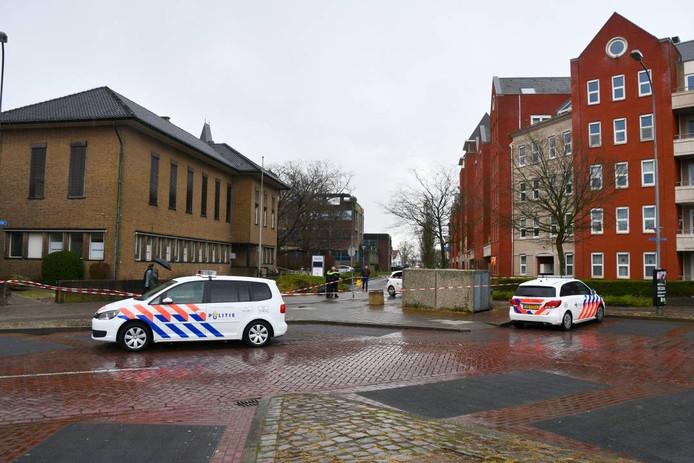 De steekpartij vond plaats op de Wijngaardstraat ter hoogte van de Van de Spiegelstraat in Goes.