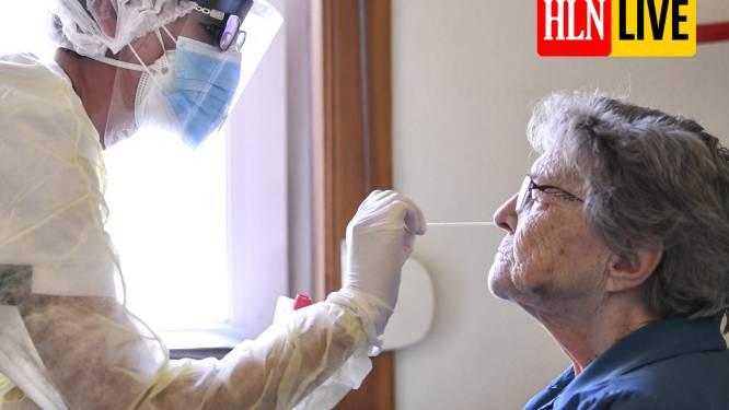 """LIVE. Crisiscentrum: """"Voor het eerst meer dan 100.000 bevestigde besmettingen in zeven dagen"""""""