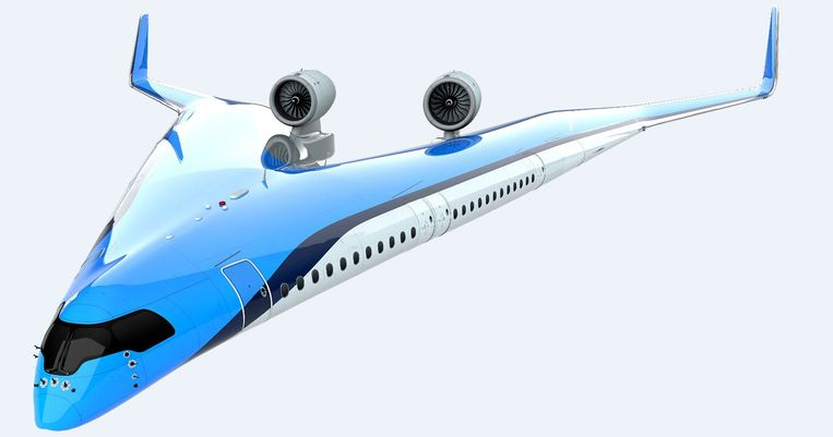 Zo moet het vliegtuig van KLM en TU Delft eruit gaan zien.