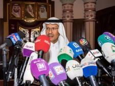 'Saoedische olieproductie eind september weer op het oude niveau'
