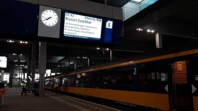 Eerste trein Breda-Antwerpen vertrokken