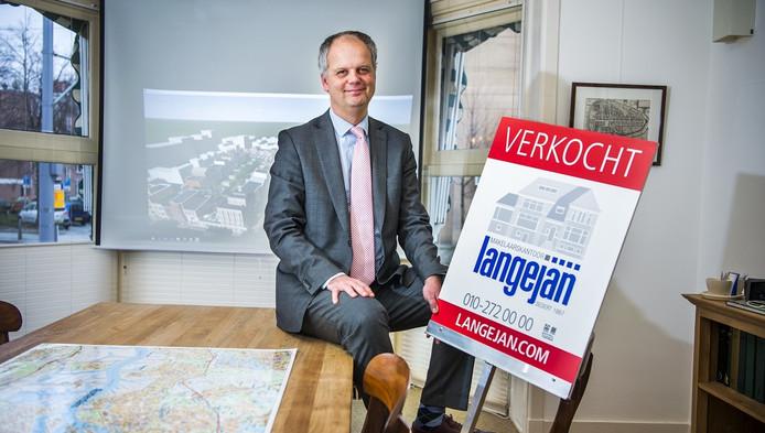 Robert Langejan, makelaar: 'We worden flink geholpen door de lage hypotheekrente'