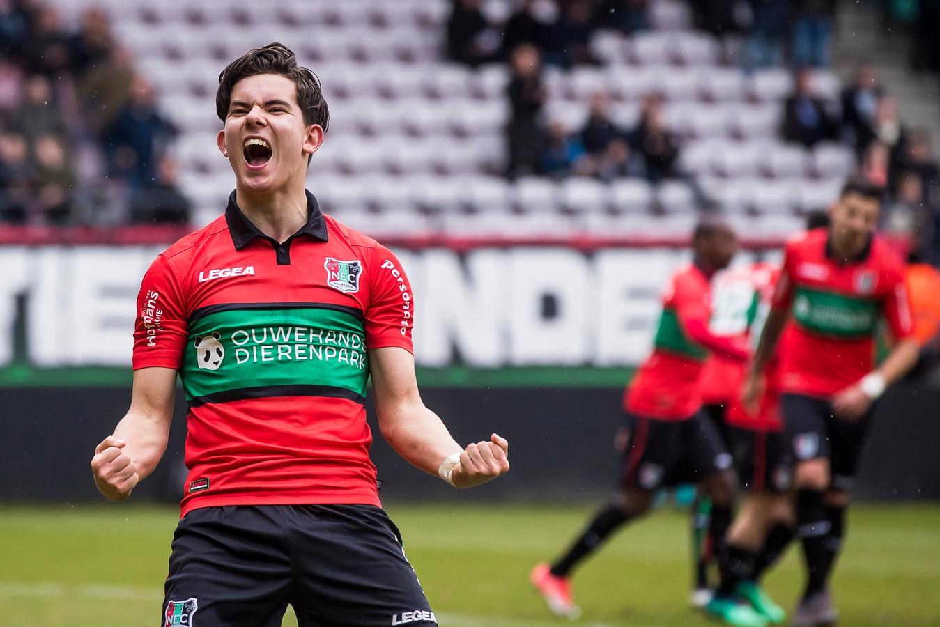 NEC miste vorig seizoen onder meer Ferdi Kadioglu (foto) en Arnaut Groeneveld in eerste divisieduels vanwege interlandverplichtingen.