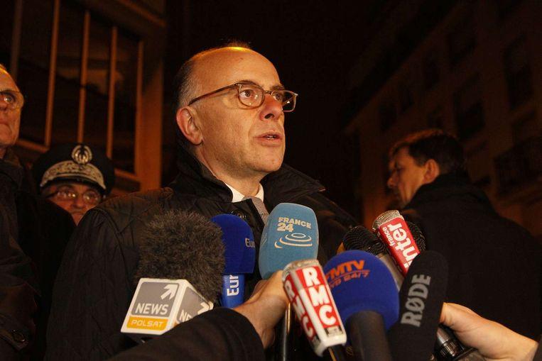 De minister van Binnenlandse Zaken Bernard Cazeneuve. Beeld afp