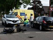 Scooterrijder raakt gewond bij ongeval in Vriezenveen