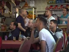 Marokkaanse voetbalfans in Den Haag teleurgesteld: 'Het is ons niet gegund'