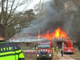 Grote brand in Doorwerth