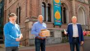 Ook Asse krijgt ontsmettende gels van brouwerij Alken-Maes
