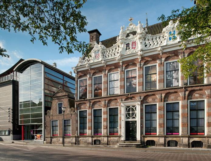 De panden waar voorheen het Stedelijk Museum Zwolle huisde.
