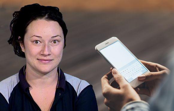 Jacqueline Ades wordt beschuldigd van het sturen van meer dan 159.000 berichtjes naar een man.