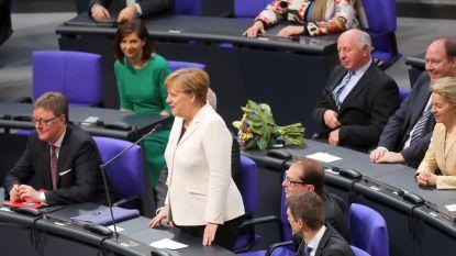 Merkel voor vierde keer tot bondskanselier verkozen