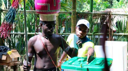 Grote meerderheid op Bougainville wil onafhankelijkheid worden van Papoea-Nieuw-Guinea
