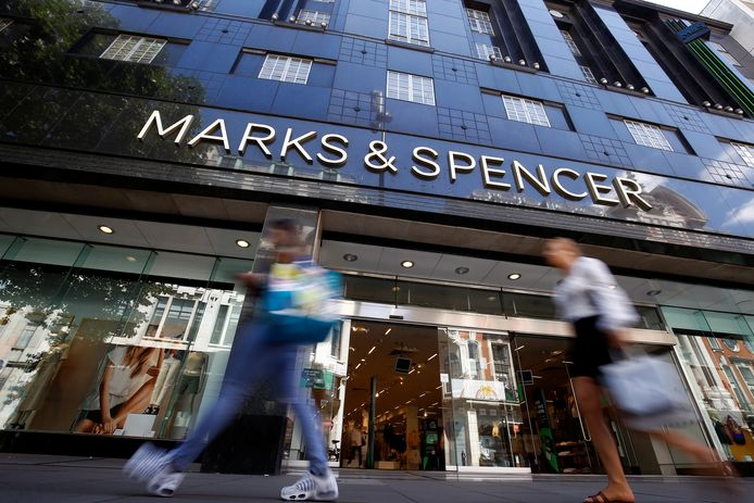 Une boutique Marks & Spencer à Londres.