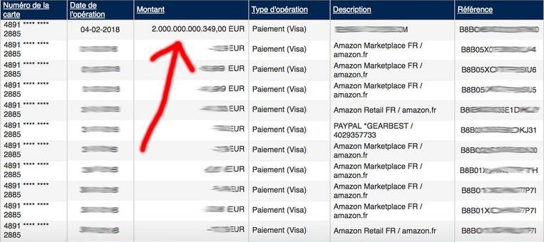 Plots stond er 2.000.000.000.349 euro op Lucs rekening.