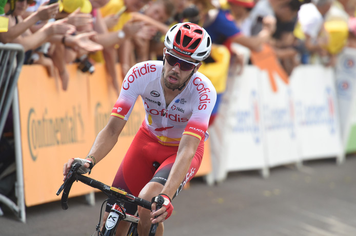 Jesús Herrada tijdens de Tour de France.