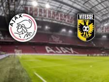LIVE | Fel Vitesse zet Ajax onder druk in Johan Cruijff Arena