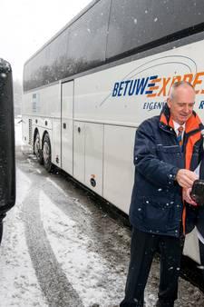 Spitsuur bij busonderneming Betuwe Express