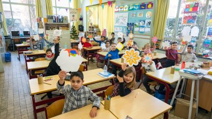Leerlingen Het Klaverbos maken 'winterwensjes'