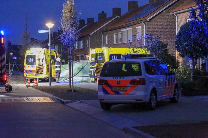 Dode en gewonde bij steekpartij in woonwijk Veghel.