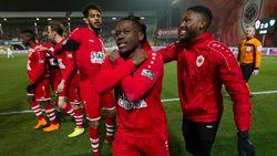 Antwerp blijft in de race voor play-off 1, Eupen opnieuw rode lantaarn