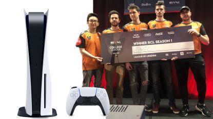 Voorspel winnaar e-sportfinale Belgian College League en win een PlayStation 5