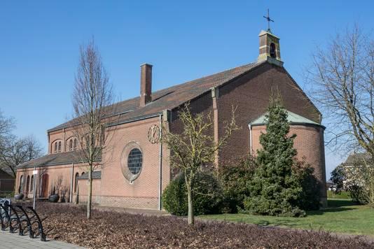 De rooms katholiek kerk in Ven-Zelderheide  die op den duur een multifunctioneel centrum voor het dorp moet worden.