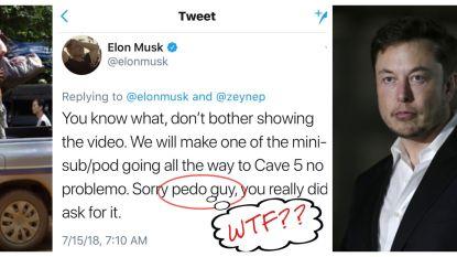 "Grote verontwaardiging na tweet Elon Musk: ""Duiker die deelnam aan redding Thaise voetballers is een pedofiel"""