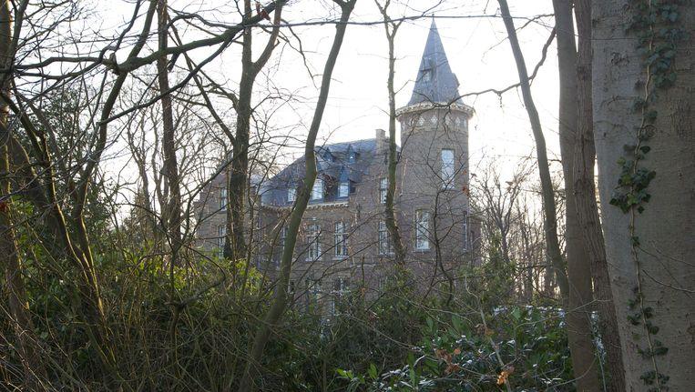 Het kasteel van Stijn Saelens. Beeld AFP