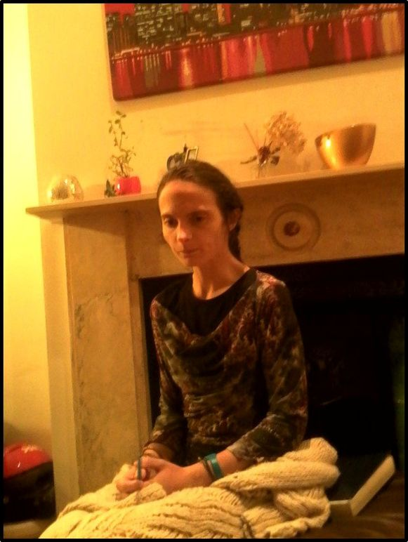Sophie Lionnet op een foto van twee dagen voor ze stierf. Ze was nog maar een schim van zichzelf.