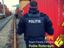 Politie arresteert in één dag tijd 22 mannen op containerterminal vanwege verdacht gedrag
